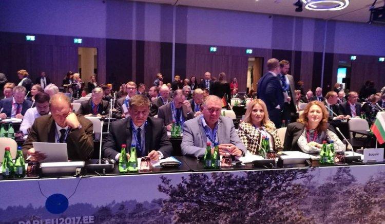 БСП постави въпроса за обща европейска армия в Талин