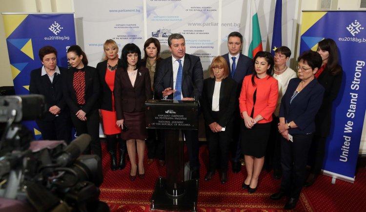 """Кризисни центрове за защита на пострадали от домашни насилие във всеки областен град поиска ПГ на """"БСП за България"""""""