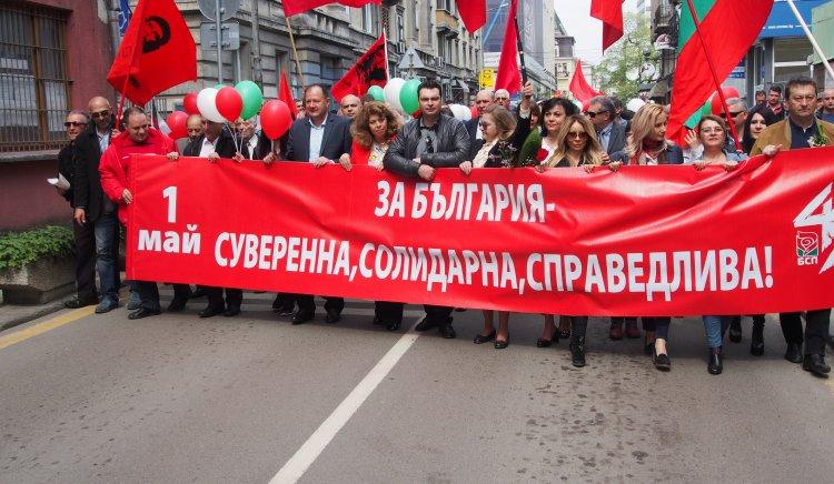 Миков пред над 1000 трудещи се: Правото на труд е свещено. Трябва да се борим за него