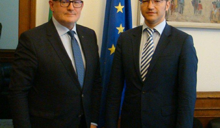 Кристиан Вигенин се срещна с посланика на Естония Н.Пр. Антс Фрош