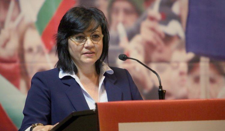 Корнелия Нинова: Тръгваме с хората зад генерал Радев