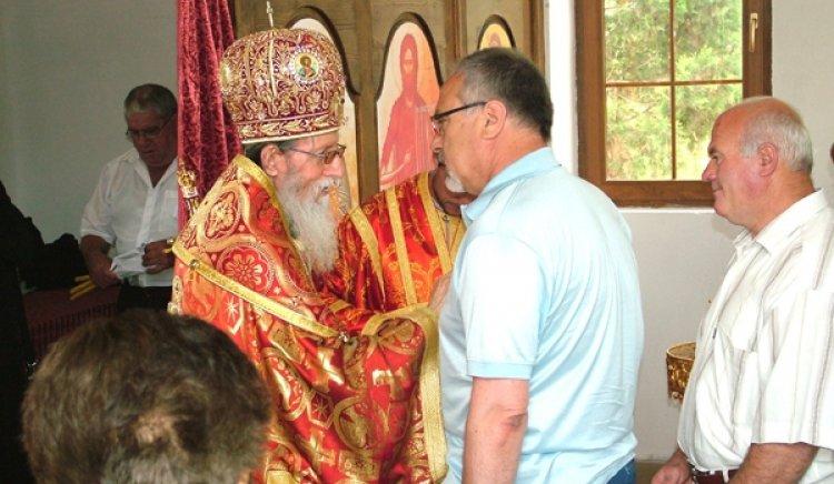 Асен Гагаузов присъства на освещаване на църква