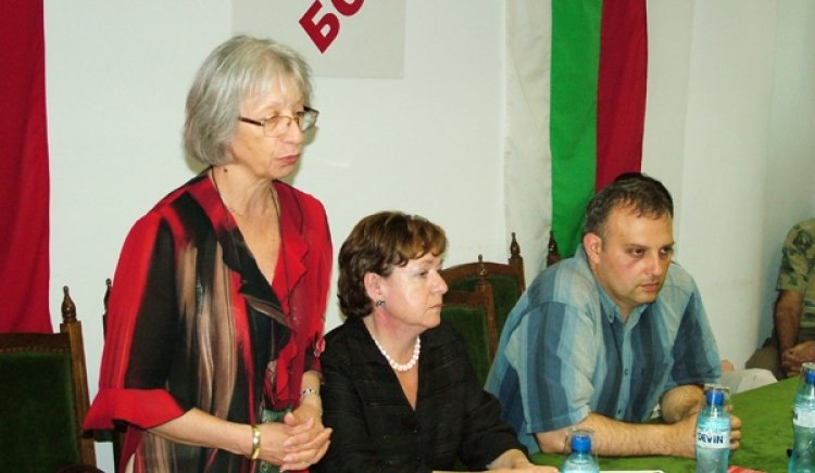 Маруся Любчева посети Сливен