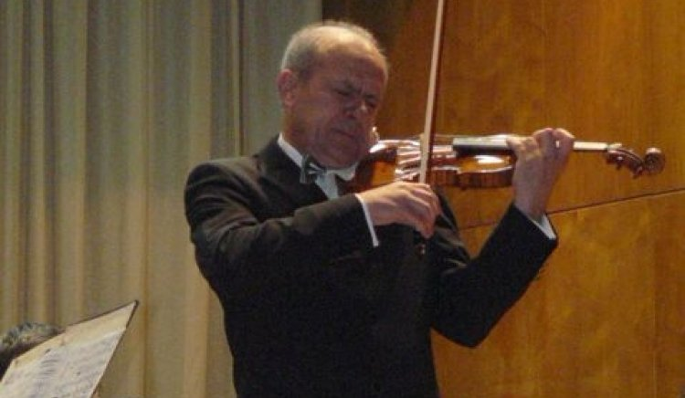 проф. Минчо Минчев и Румен Петков обсъдиха провеждането на майсторски клас по цигулка в Плевен