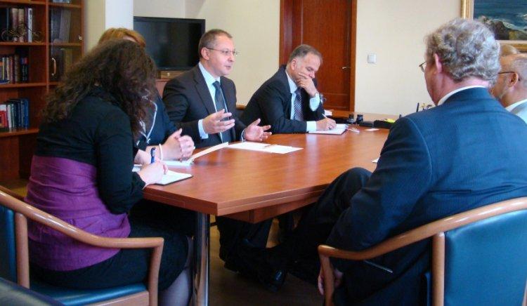 Посланиците на Дания, Швеция и Финландия питаха Сергей Станишев за икономическата криза и инвестиционния климат в България