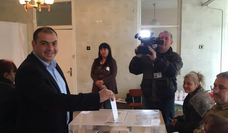 Филип Попов: Гласувах за промяна на България тук и сега!