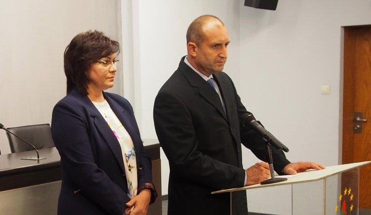 Нинова: Ген. Румен Радев е кандидатът на БСП за президент