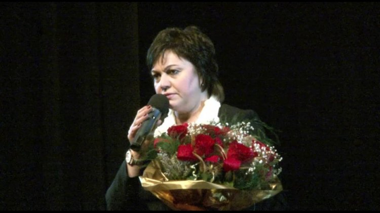 Корнелия Нинова във Враца на 08.03.2017