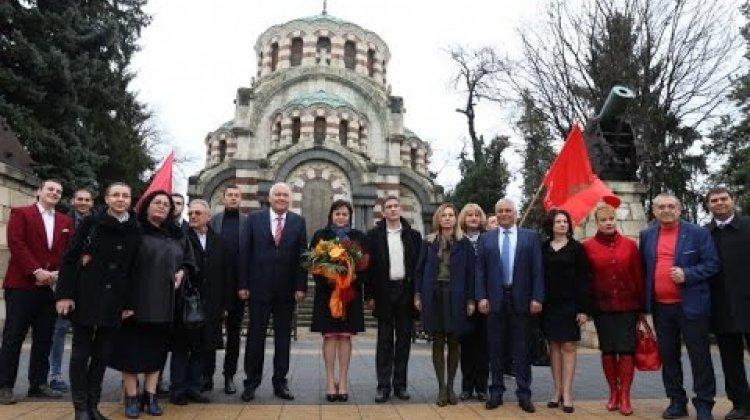 Корнелия Нинова в Плевен на 11.03.2017
